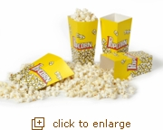 Cinema 8-Pack Pop-Open Popcorn Tubs