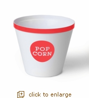 Coral Rim Popcorn Bucket - Large (Case Pack of 12)