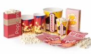 Disposable Popcorn Bags, Boxes & Tubs