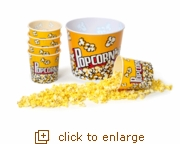 Family Night Popcorn Tub Set