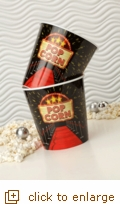 2-Pack Large Red Carpet Popcorn Tubs