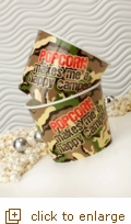 2 -Ct. Medium Camouflage Popcorn Tubs