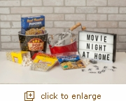 Glossy Red Whirley-Pop: Movie Night & Popcorn at Home