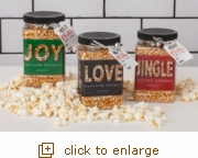 Jingle Jar Gourmet Popcorn Collection (Overstock/Seasonal)