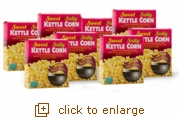 Kettle Corn Popcorn Popping Kits: 24-Pack