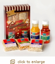 Old Fashioned Complete Popcorn Gift Set
