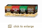 On the Edge Popcorn Seasoning 4-Pack Set