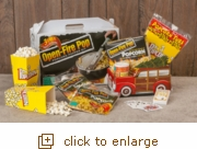 Open-Fire Pop: Family Vacation Popcorn Gift Set