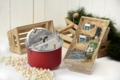 Organic Popcorn Popping Kit Crate Gift Set