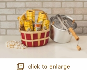 Silver Whirley-Pop: Basket Full of Joy...and Popcorn