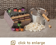 Silver Whirley-Pop: Popcorn Pizzazz Package Gift Set