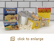 Silver Whirley-Pop: Popcorn Popping Favorites
