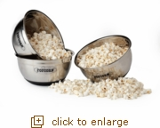 Stainless Steel Popcorn Bowl
