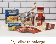Stainless Steel Whirley-Pop: Popcorn Popping Favorites