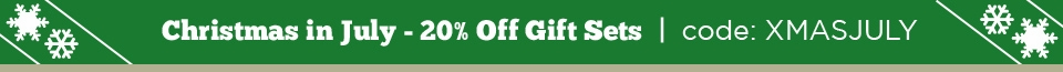 Christmas in July! 20% Off Gift Sets w/ Coupon XMASJULY
