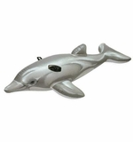 Intex Giant Dolphin Ride On Inflatable Pool Toy # 58539
