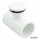 """Waterway Air Injector Low Profile 1""""s x 1""""s Tee Style White # 670-2160"""