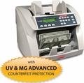 Semacon S-1625 PREMIUM Bank Grade Heavy Duty Currency Counter with Advanced Counterfeit Protection