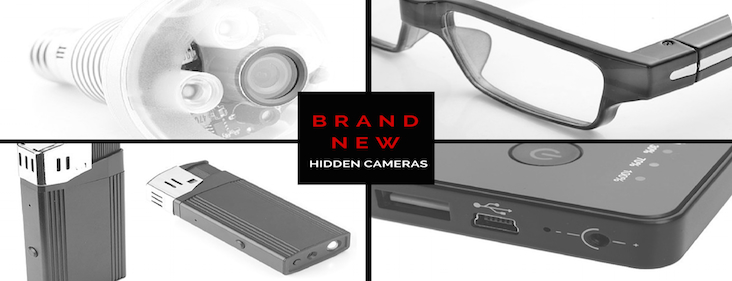 Brand New Covert Hidden Spy Cameras