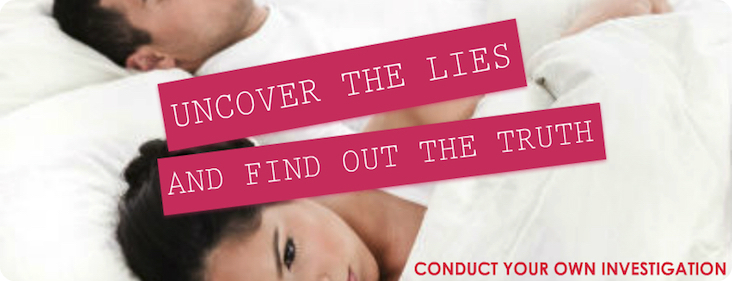 Catch A Cheating Spouse- Conduct Your Own Investigation- Infidelity Surveillance- Catch a Cheater