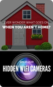 Keep An Eye On Your Home When You're Away- Hidden WiFi Cameras
