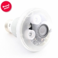LED Light Bulb Night Vision Hidden Spy Camera