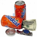 Sunkist Orange Soda Diversion Can Safe