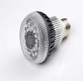 WiFi LED Light Bulb HD Hidden Spy Camera w/ Nightvision