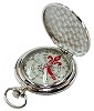 Pocket Compass � Silver