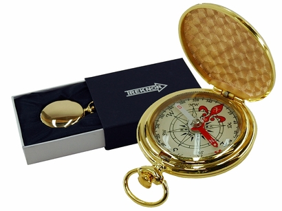 Pocket Compass – Gold