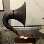 Antique Gramophone iPod Dock