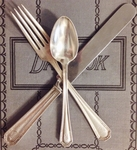 Service for 6 - Vintage Silver Plate Flatware from Chase Hotel St Louis