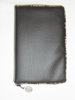 Black Paisley Missal Cover