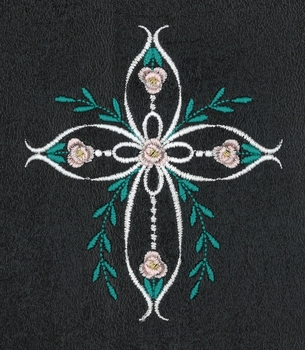 Floral Loop Cross
