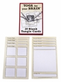 20 Blank Tangle Cards