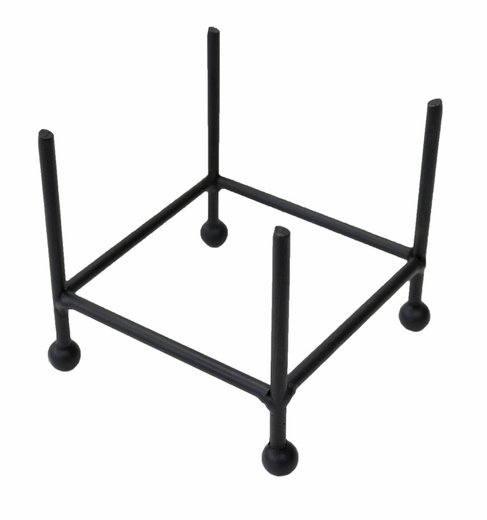 Coaster Rack, Wrought Iron Straight Prongs