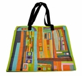 Durable Artsy Eco Tote, Cityscape Design