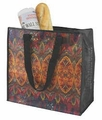 Durable Artsy Eco Tote, Kaleidoscope Design