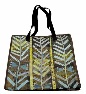 Durable Artsy Eco Tote, Piece of Cake Design