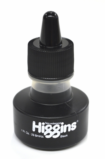 Higgins Non-Waterproof India Ink
