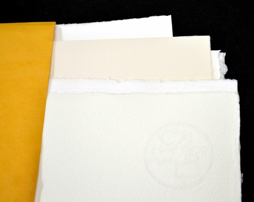 Large White Paper Sample Pack