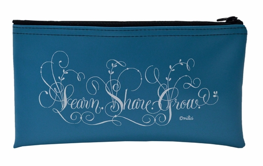 """Learn, Share, Grow"" Tool Pouch"