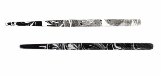 Manuscript Black and White Marbled Holder