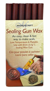 Manuscript Sealing Gun Wax, Red