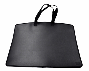 My Carry All Frosted Plastic Totes, Black