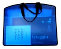 My Carry All Frosted Plastic Totes, Blue