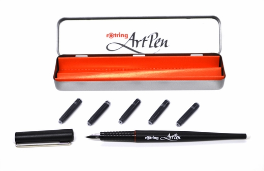 Rotring Art Pen, Lettering Fountain Pen B