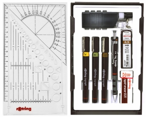 Rotring Isograph College Set (.20, .30,.50)