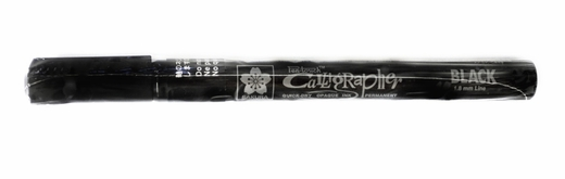 Sakura Pen-touch 1.8mm Calligrapher Marker, Black