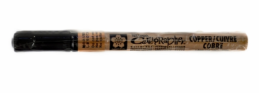 Sakura Pen-touch 1.8mm Calligrapher Marker, Copper